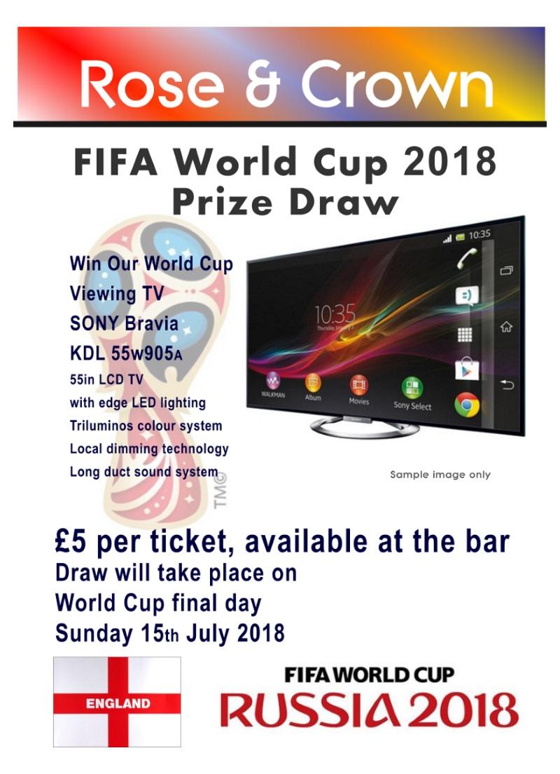 Football World Cup Draw - Rose & Crown, Lytchett