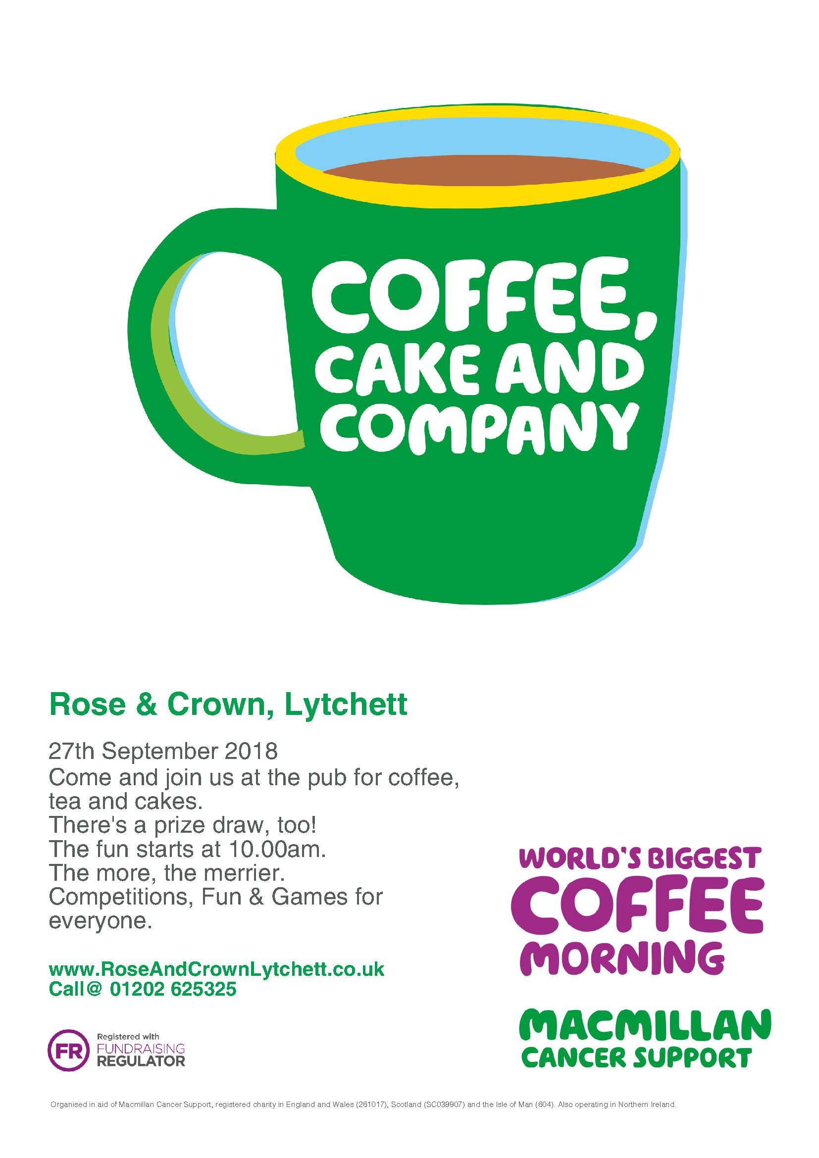 Macmillan Sept 18 Coffee Cake and Company