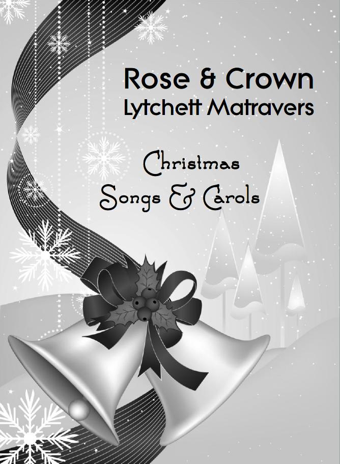 Carol singing at The Rose & Crown, Lytchett