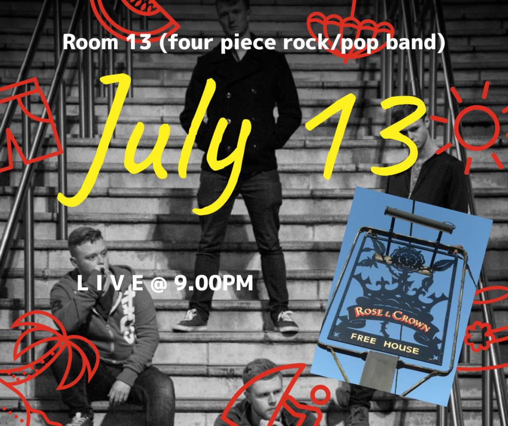 Room 13 July 13