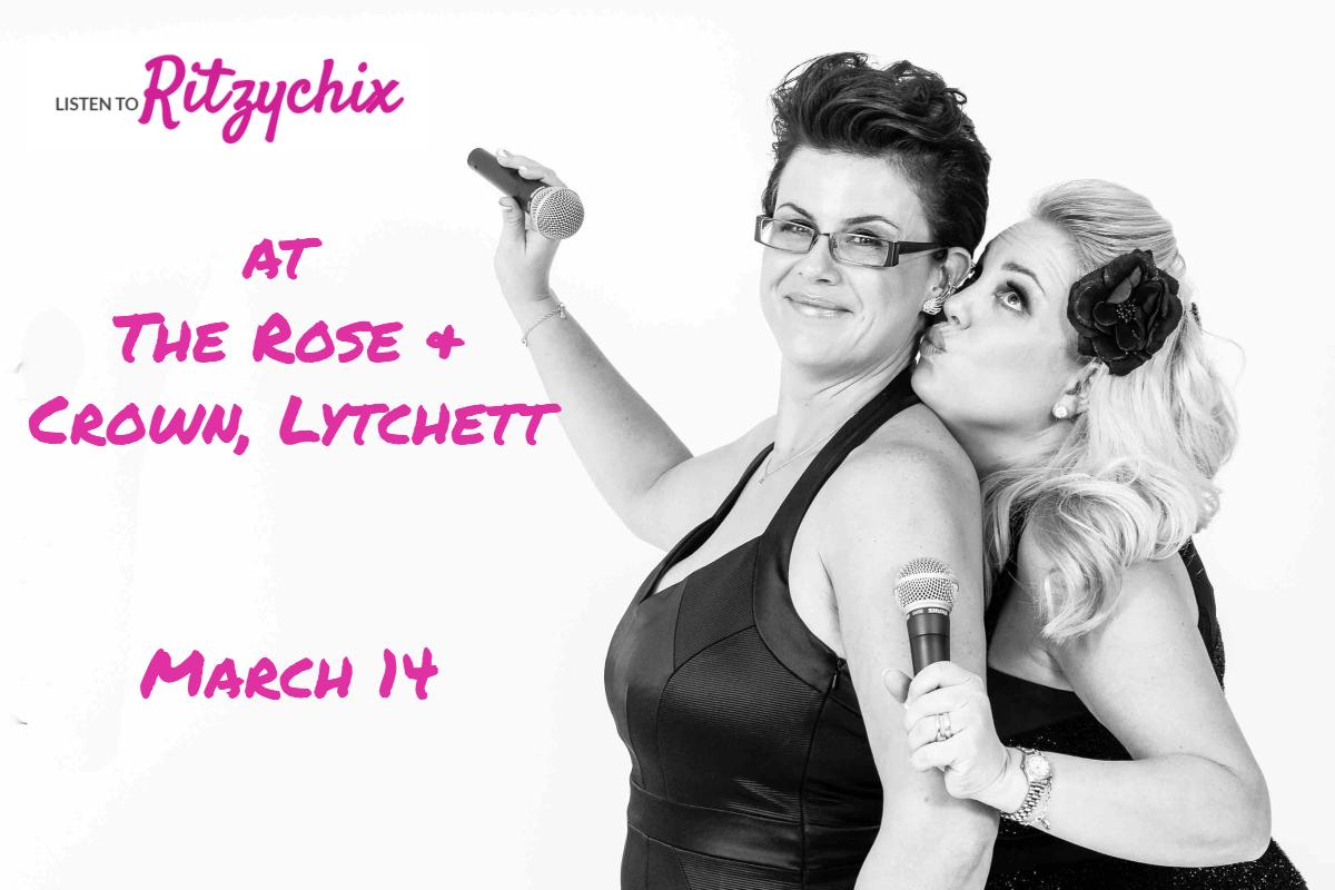RitzyChix Live at Rose & Crown, Lytchett