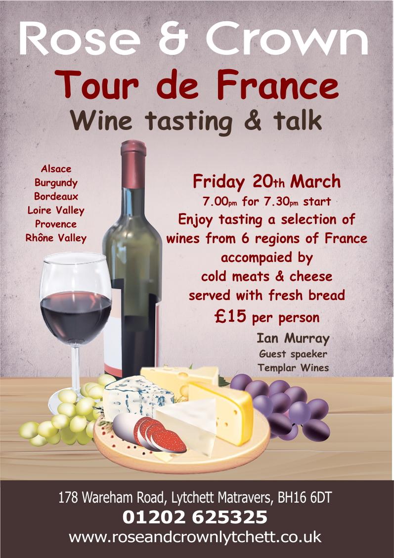 Wine Tasting Mar 2020